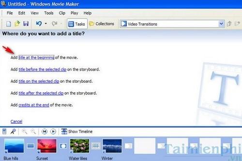 Cách tạo video từ ảnh chụp có sẵn trên máy tính, laptop 9