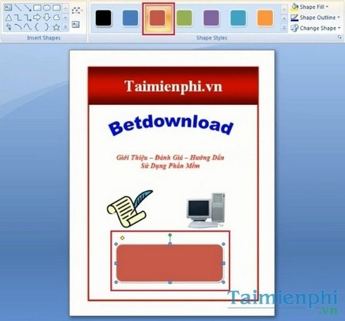 how to create a leaflet in word