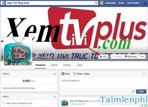 Hướng dẫn xem Tivi trực tuyến trên Facebook