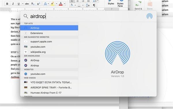 airdrop tren iphone ipad la gi 3