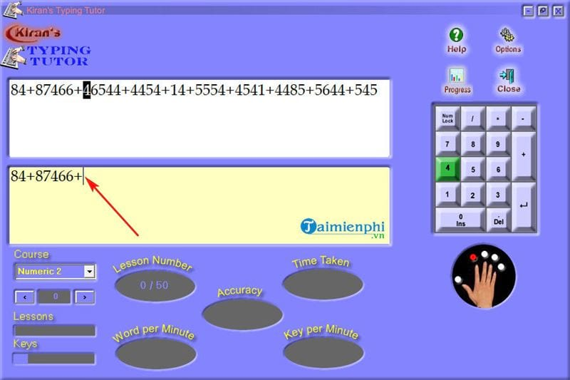 How to use and use kiran s typing tutor practice 10 delicious 14