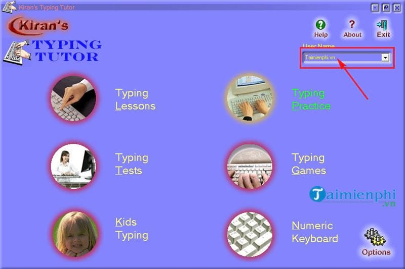 How to use and use kiran s typing tutor practice 10 delicious 4