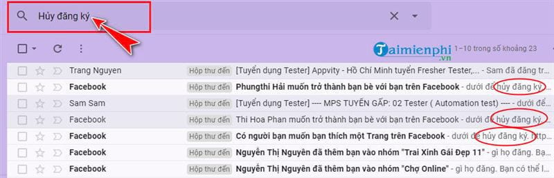 High optical link on Gmail 5