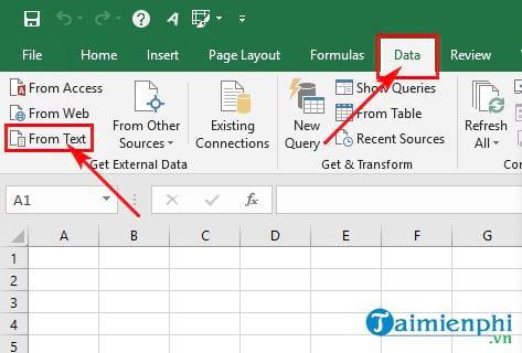 Cách chuyển file Word sang Excel 4