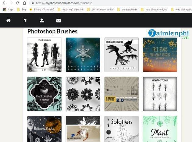 Top site that offers beautiful photoshop brushes 4