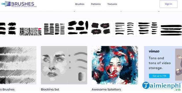 Top sites that provide beautiful photoshop brushes 5