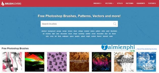 Top site that offers beautiful photoshop brushes 6