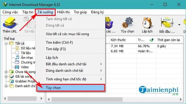 huong dan tang toc do download file cua idm ban tieng viet 4
