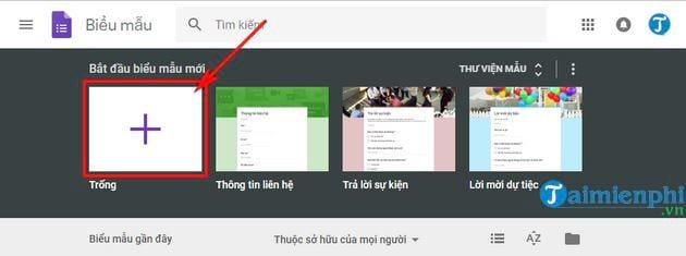 Hướng dẫn tạo Google Form chuyên nghiệp 2