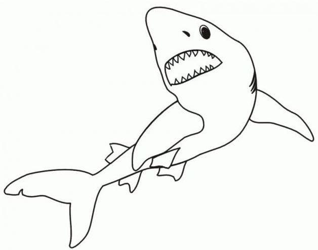 Tranh tô màu con cá 13