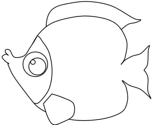 Tranh tô màu con cá 3