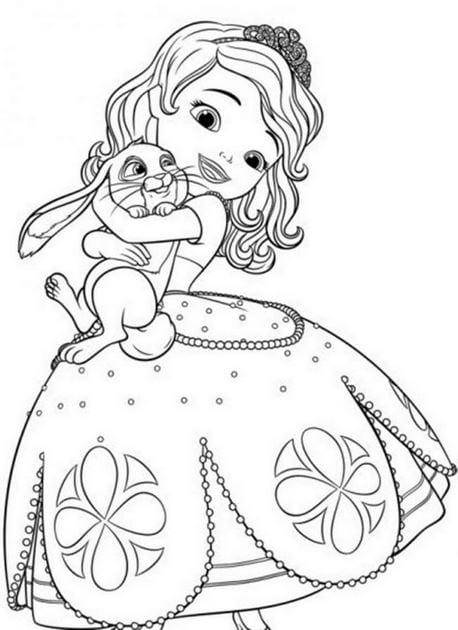 Tranh tô màu công chúa cho bé gái tập tô 23