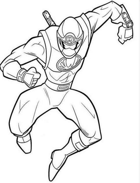 Tranh tô màu siêu nhân 11