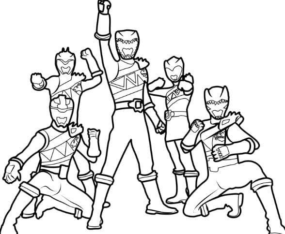 Tranh tô màu siêu nhân 2