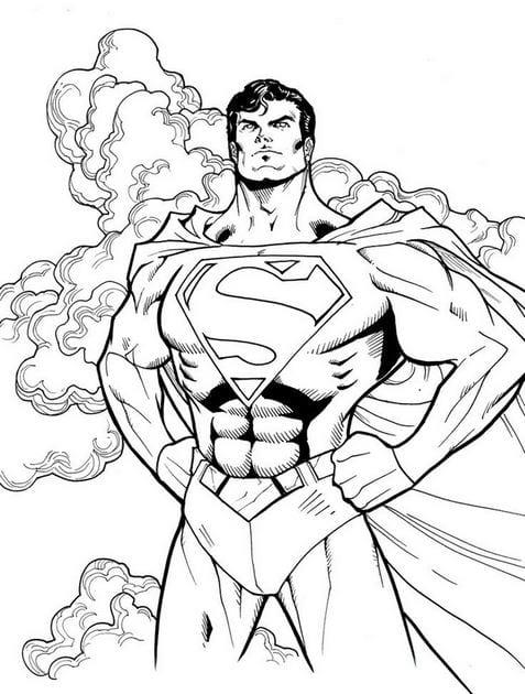 Tranh tô màu siêu nhân 20