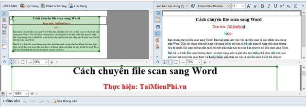 Cách chuyển file scan sang Word 9