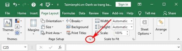 Cách đánh số trang bất kỳ trong Excel, theo ý muốn 2