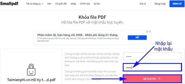 huong dan them mat khau pdf truc tuyen 6