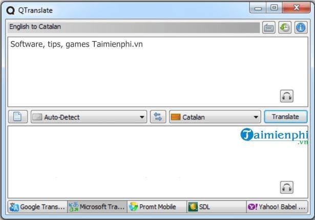 Top phần mềm dịch ngôn ngữ trên máy tính 2