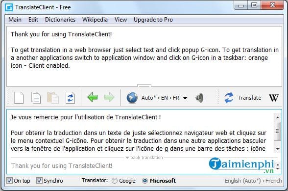 Top phần mềm dịch ngôn ngữ trên máy tính 3