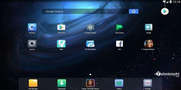 Giả lập Android nhẹ dành cho máy cấu hình yếu? 11