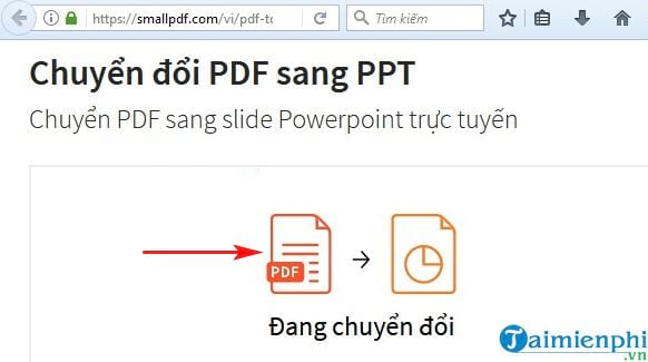 Direction of converting pdf to ppt in the most simple 5