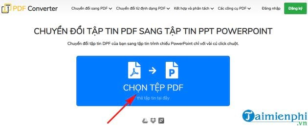 Direction of converting pdf to ppt in the most simple 7