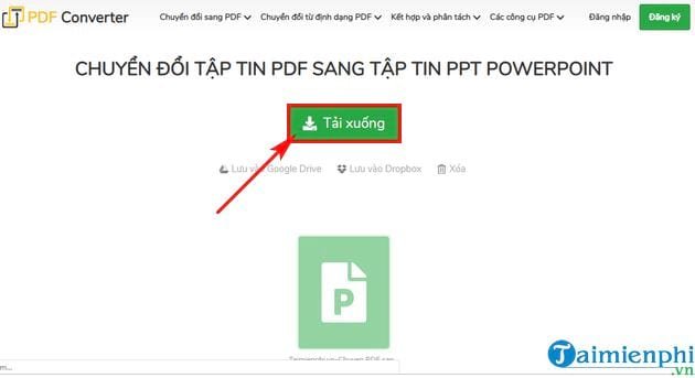 Direction of converting pdf to ppt in the most simple 10