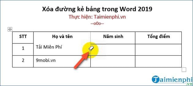 cach xoa duong ke bang trong word 2019 3