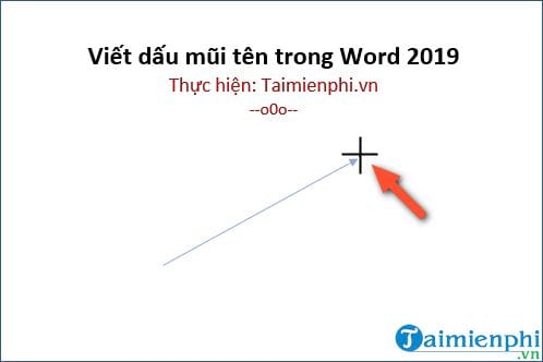 cach viet dau mui ten trong word 2019 7