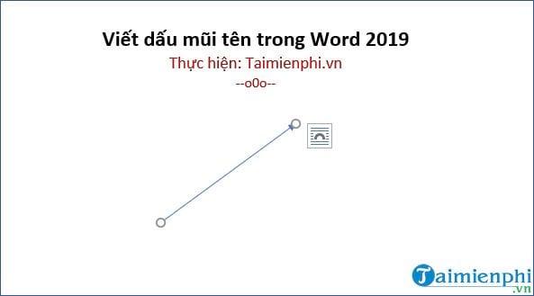 cach viet dau mui ten trong word 2019 8