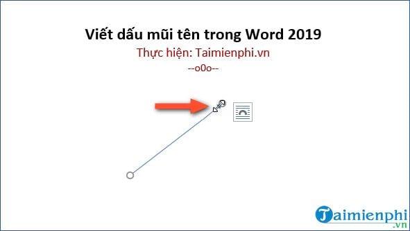 cach viet dau mui ten trong word 2019 9