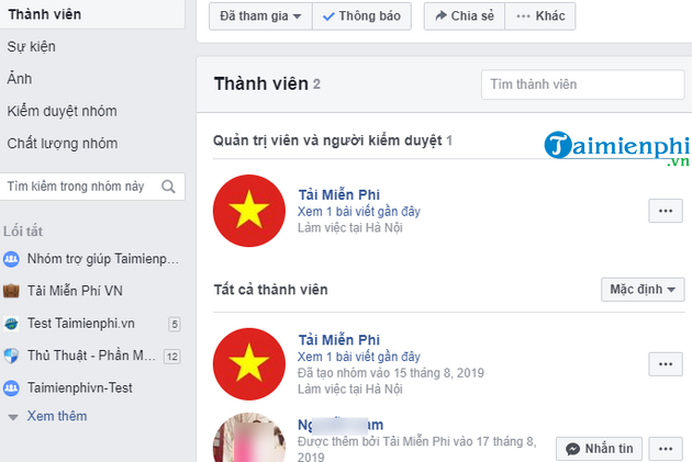 Loại thành viên ra khỏi nhóm Facebook