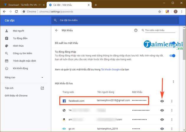 Cách xem mật khẩu Facebook đã lưu trên máy tính, laptop
