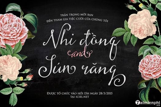 all beautiful fonts in flower 6