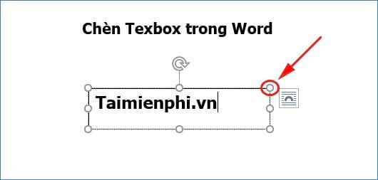 huong dan cach chen texbox trong word 5