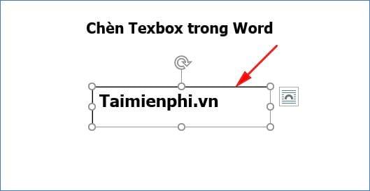 huong dan cach chen texbox trong word 6