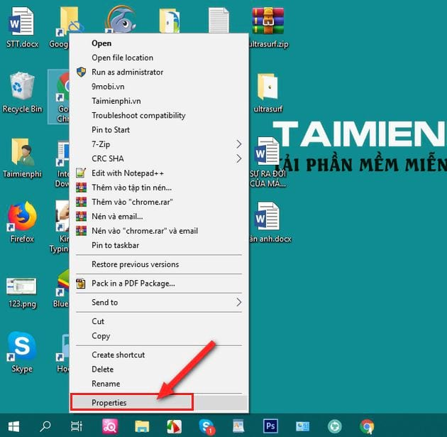 Đổi biểu tượng icon trên Windows 10 10