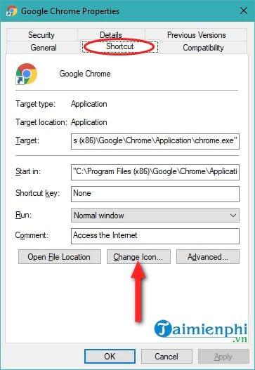 Đổi biểu tượng icon trên Windows 10 11