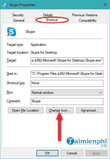 Đổi biểu tượng icon trên Windows 10 14