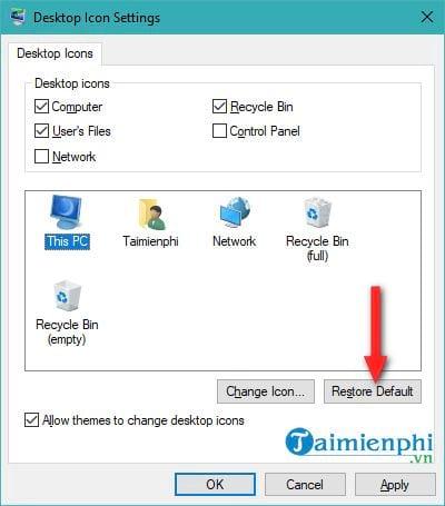 Đổi biểu tượng icon trên Windows 10 6