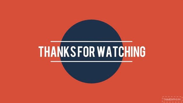 Mẫu lời cảm ơn trong slide PowerPoint 11