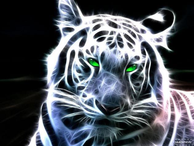 Hình nền con hổ cực đẹp cho máy tính