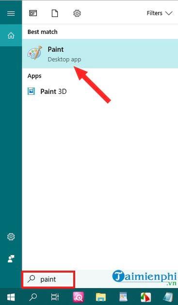 Cách chụp màn hình máy tính bằng Paint đơn giản