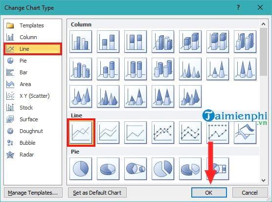 Vẽ 2 biểu đồ trên cùng 1 đồ thị trong Excel 8