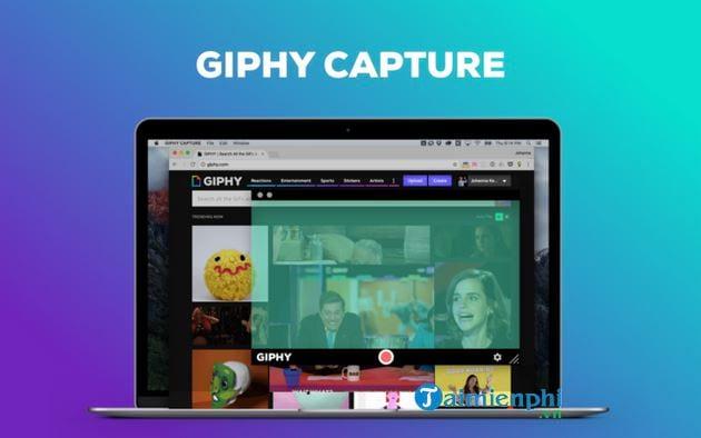 Cách chuyển màn hình máy tính thành ảnh GIF