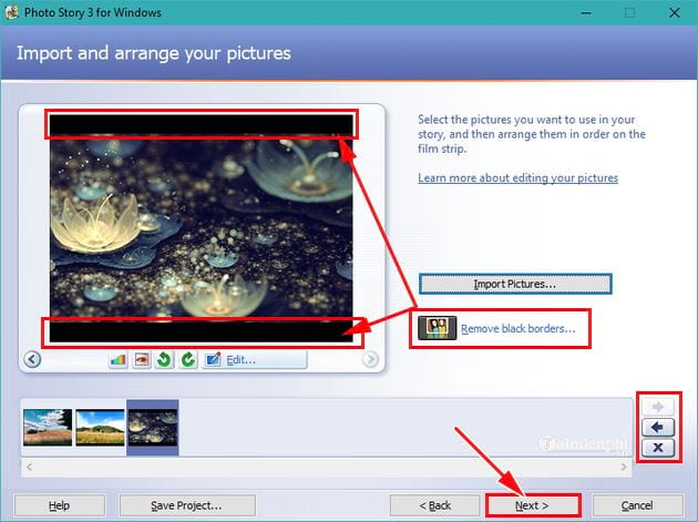 Huong using photo story 3 for windows 5