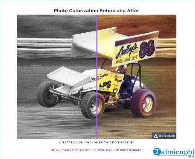 Cách chuyển ảnh đen trắng thành ảnh màu trực tuyến không cần phần mềm