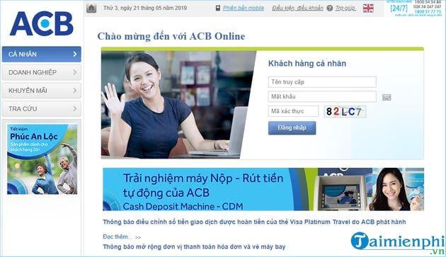 Cách đăng ký Internet Banking ACB Bank 2