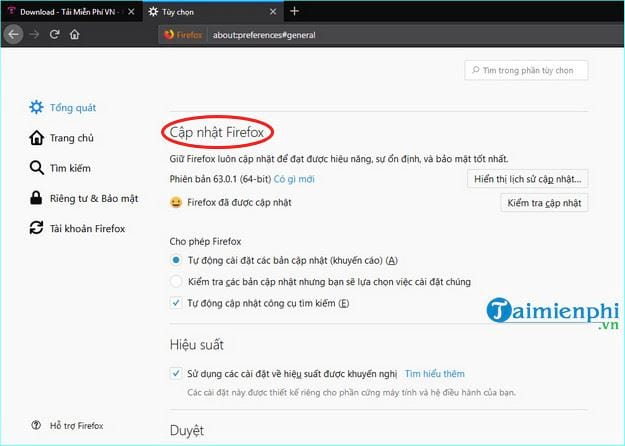 how to disable firefox 5 update